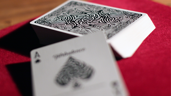 Turbulence Playing Cards Black Edition Number Sealed
