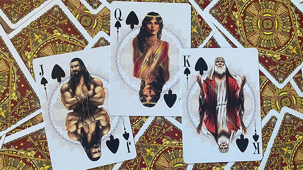 Testament Playing Cards Biblical themed deck