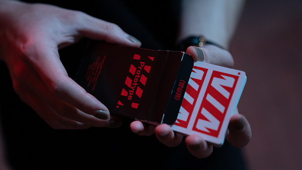 Prototype Playing Cards Supreme Red edition by Vin