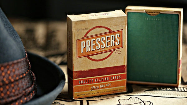 Buyworthy:Pressers Playing Cards Premium Quality 60s Deck Ellusionist Brand New & Sealed