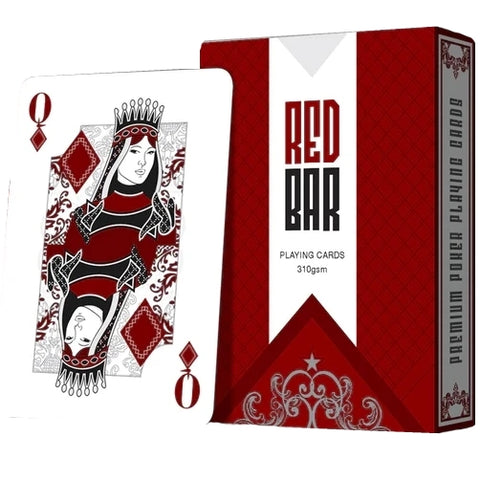 Red Bar Playing Cards Limited Edition Black Market Deck