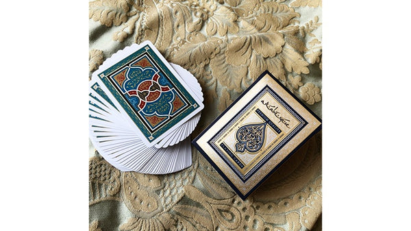 ARABESQUE Playing Cards Player's Edition Blue by Lotrek