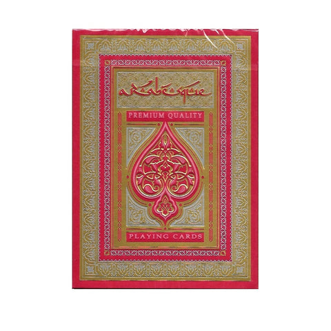 ARABESQUE Playing Cards Player's Edition Red by Lotrek