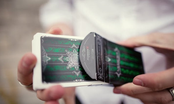 ARTIFICE Green Playing Cards Emerald Ellusionist Deck