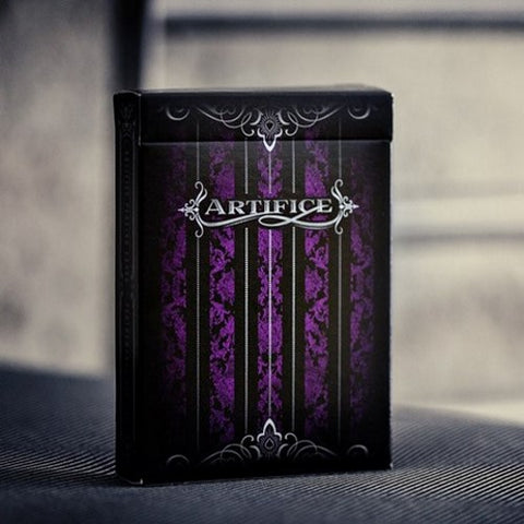 Artifice Purple Playing Cards by Ellusionist Premium Magic Deck