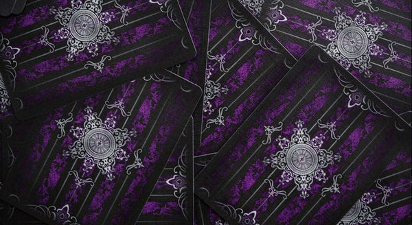 Playing Card Gift Set Purple Artifice Alchemy Dark Hearts LTD 4 Decks