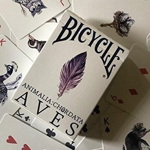 AVES Uncaged Playing Cards Rare Premium Hand-drawn Birds