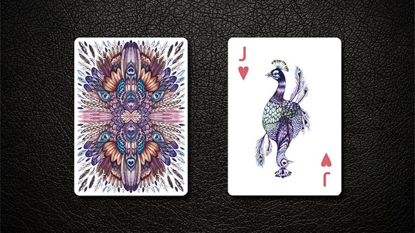 Buyworthy:AVES Uncaged Playing Cards Deck by Lux Premium Hand-drawn birds