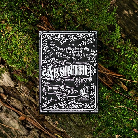 Absinthe Playing Cards V2 Deck Switzerland's finest