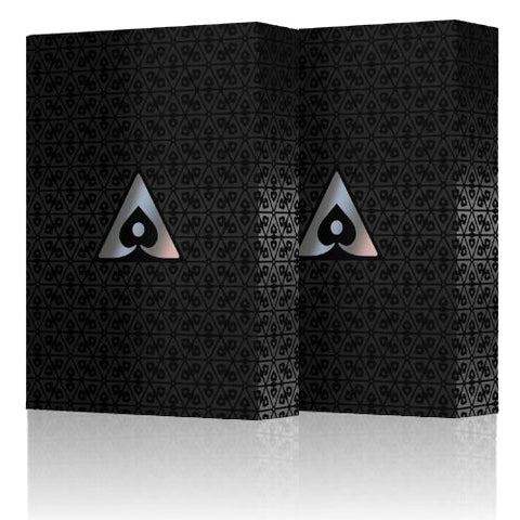 Aces Playing Cards 100% Plastic Premium Poker by Vanda 2-Decks Set