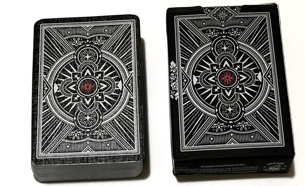 Agenda Mini Playing Cards Black Edition Deck by Flagrant Agenda
