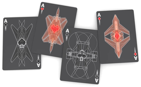 Air Squadron Playing Cards Deck Air Force Military Bicycle
