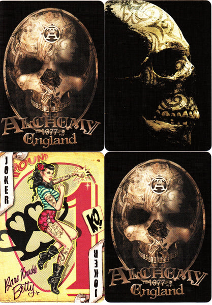 Alchemy 1977 England Playing Cards Fantasy Tattoo Steampunk
