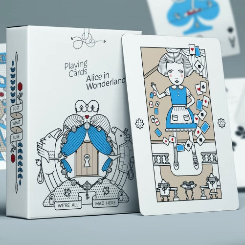 Alice in Wonderland Playing Cards Luxury Deck Artist Sasha Dounaevski