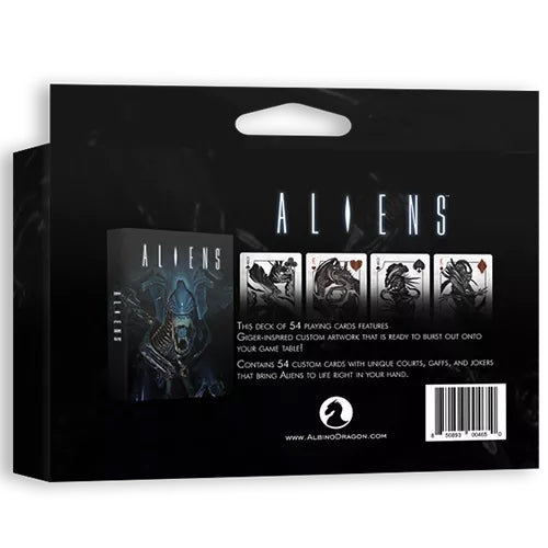 Alien Playing Cards Rare Officially Licensed Collectors Gift Box Set + Coin