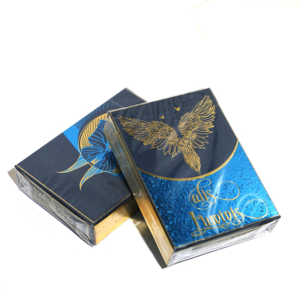 Alis Luminis Playing Cards The Winged Butterfly 2-Deck Set