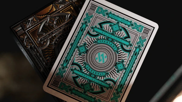 Amazons Spartans Playing Cards Ephoros Black Edition All Female