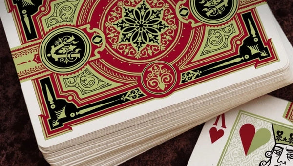 Ambassadors Red Limited Edition Playing Cards by Lotrek