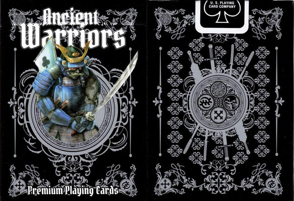 Ancient Warriors Playing Cards Black Limited Edition deck