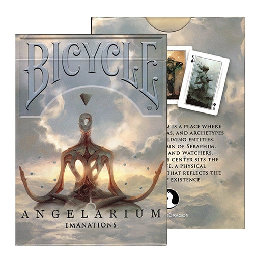 Angelarium Playing Cards Emanations Bicycle Edition by Albino Dragon Inc.