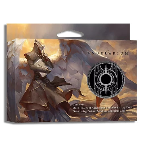 Angelarium Enochian Playing Cards Collectors Gift Box Set + Coin