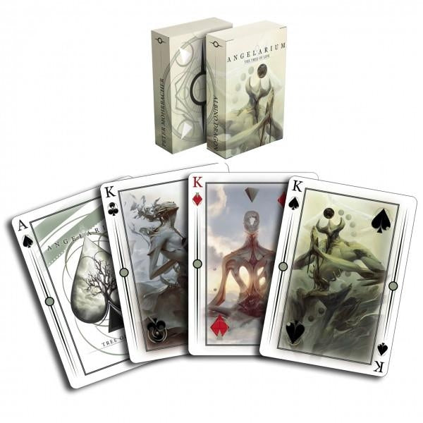 Angelarium Enochian Edition Playing Cards by Albino Dragon Fantasy Deck