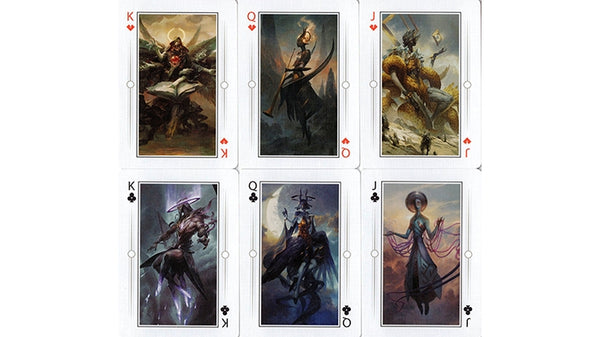Angelarium Playing Cards Seraphim Bicycle Edition by Albino Dragon Inc.