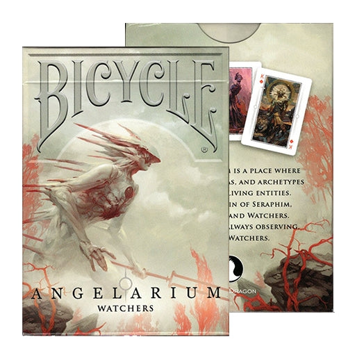 Angelarium Playing Cards Watchers Bicycle Edition by Albino Dragon Inc.