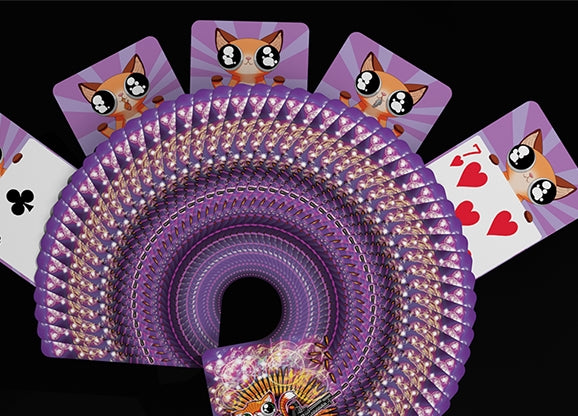 Angry Pussies Playing Cards Cat CLAW-SOME Deck by De'Vo