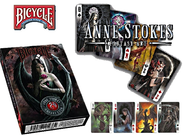 Anne Stokes Fantasy Art Playing Cards Original Deck Very Rare