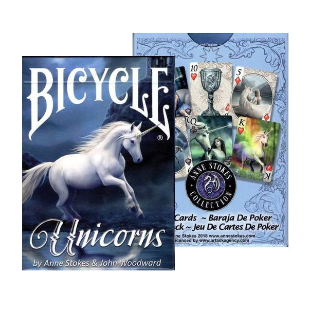 Unicorns Anne Stokes Playing Cards Deck Magic Fantasy 2018 Edition