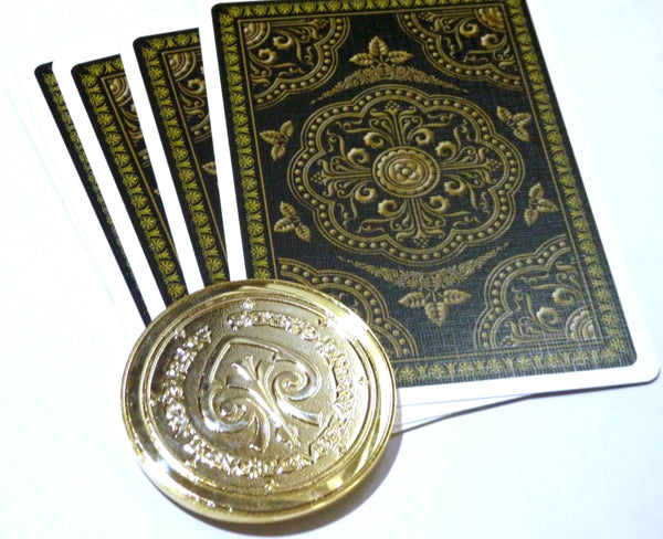 Antagon Playing Cards Gold Coin Collectors Card Guard