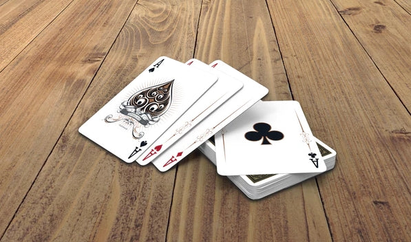 Aphelion Playing Cards Black & Gold Limited Edition Luxury Numbered Deck