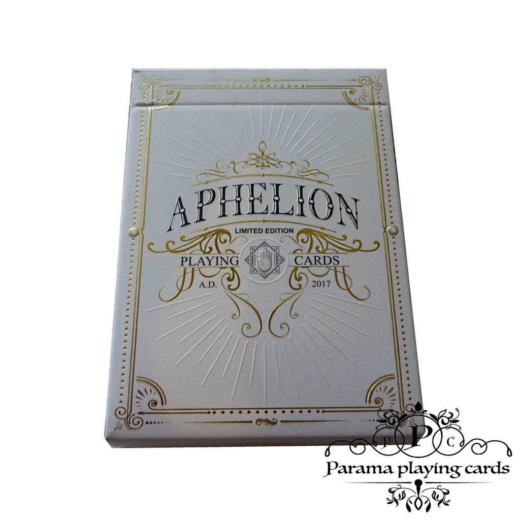 Aphelion Playing Cards Limited Edition Luxury Deck + Free Sticker