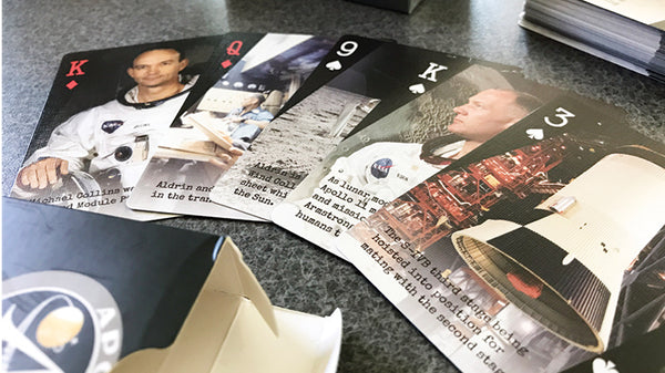 Apollo 11 Playing Cards 50th anniversary of the moon landing