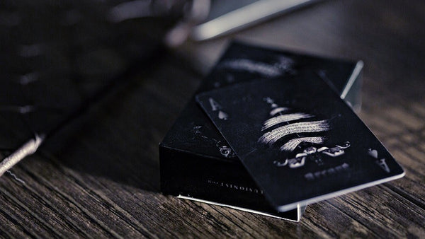Buyworthy:Arcane Mini Playing Cards Deck Black Edition Ellusionist Poker gift Brand New