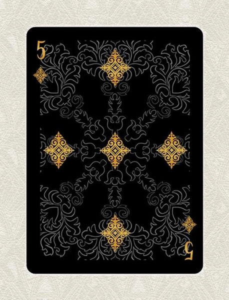 Buyworthy:Arcanum Black Playing Cards Magic Poker Deck Brand New & Sealed Made in USA