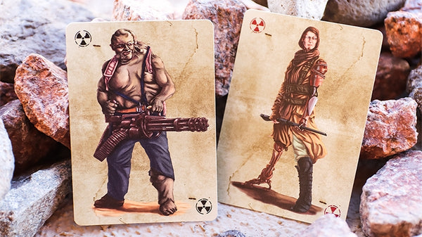 Armageddon Post-Apocalypse Playing Cards Limited Edition