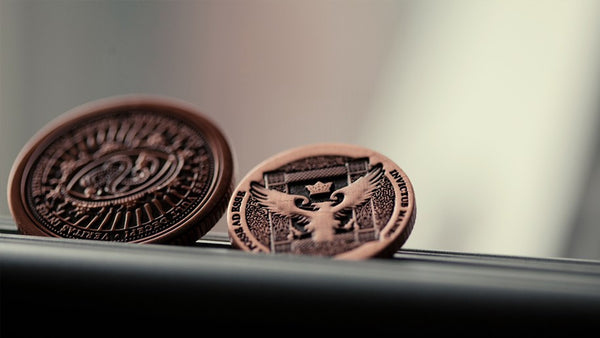 Buyworthy:Artifact Coin Magician Coins Copper Full Dollar Size Ellusionist Version 2 NEW