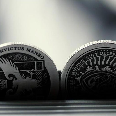 Artifact Coin Magician Coins Silver Half Dollar Size Ellusionist Version 2 NEW