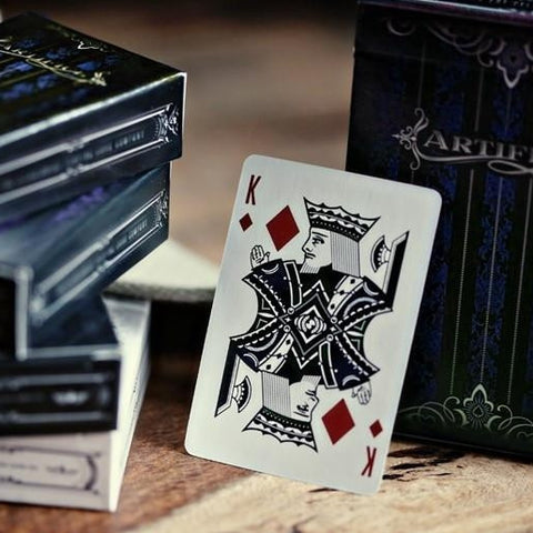 Blue Artifice Playing Cards ~ Mini Deck ~ Poker Magic Ellusionist Brand New