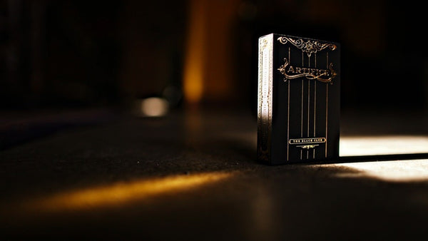 Buyworthy:ARTIFICE Gold Playing Cards Rare Deck ~ The Black Club Edition ~ Ellusionist New