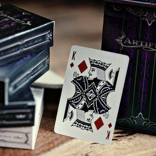 Buyworthy:Purple Artifice Playing Cards ~ Mini Deck ~ Poker Magic Ellusionist Brand New