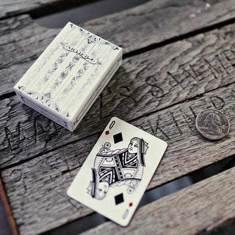 Tundra Artifice Playing Cards ~ Mini Deck ~ Poker Magic Ellusionist Brand New