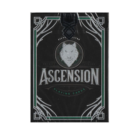 Ascension Wolves Playing Cards by Steve Minty Loyalty & Courage