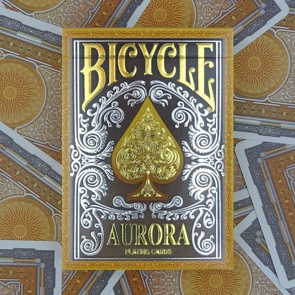 Aurora Playing Cards deck in a Glass Bottle Rare Magic Collectors AIP