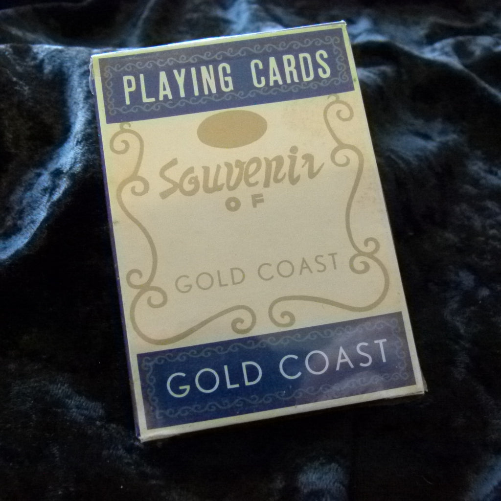 Australian Gold Coast Souvenir Vintage Playing Cards Sealed