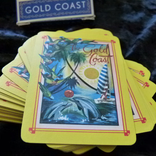 Australian Gold Coast Souvenir Vintage Playing Cards unsealed