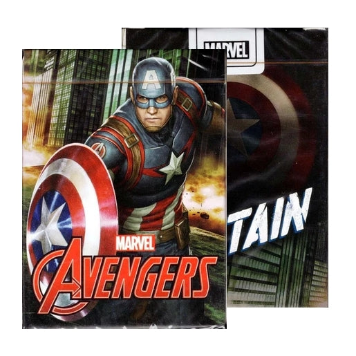 Avengers Captain America Playing Cards Official Marvel Deck