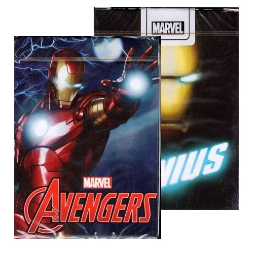 Avengers Iron Man Playing Cards Official Marvel Deck